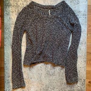 Free People Cable Knit Chunky Sweater